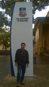 at Adelaide University, SA
